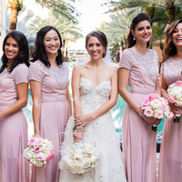 Elise and her Bridesmaids