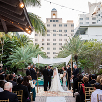 Poolside Hotel Ceremony