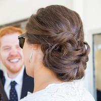Kim's Bridal Hairstyle