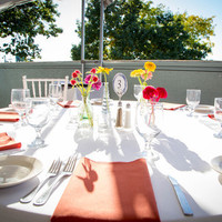 Colorful Waterfront Tabletops