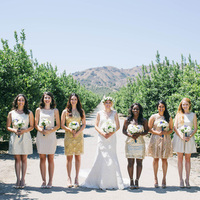 Alison and her Bridesmaids