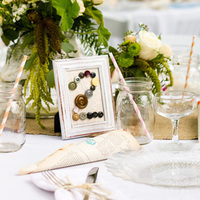 Craft Button Table Numbers