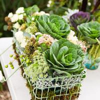 Kale Flower Baskets
