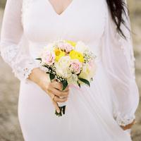 Nicole's Bridal Bouquet