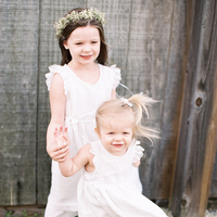 Nichole and Josh's Flower Girls