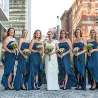 Daina and her Bridesmaids