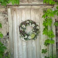 Rustic Wedding Wreath Decor