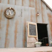 Rustic Barn Ceremony Entryway