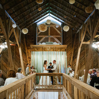 Barn Loft Ceremony