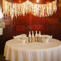 Twine Bottle Love Centerpiece