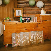 Rustic Watering Hole Bar