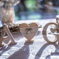 Flowers & Decor, Wooden letters
