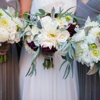 Katie & her Bridesmaids' Bouquets