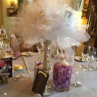 DIY Sashes Centrepiece