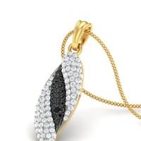 The Lavinia Wedding Diamond Pendants