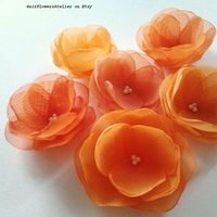 orange, budget wedding, orange wedding, orange clips
