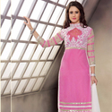 1465985306 thumb pink trendy straight suit for party wear 1003