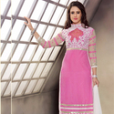 1465985306 thumb photo preview pink trendy straight suit for party wear 1003