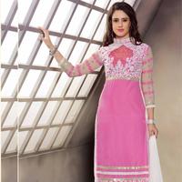 Pink Wedding Wear Salwar Kameez Supplier - Fashionfiza.com