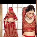 1465986335 thumb photo preview red a line lehenga choli for bridal wear 2004