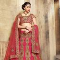 1465986706 thumb photo preview pink designer a line lehenga choli for bridal wear 2008