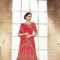 1465986706 thumb photo preview pink heavy embroidery work a line lehenga choli for bridal wear 2005