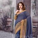 1465989086 thumb photo preview blue stylish saree for party wear 1004