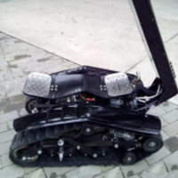 dual tracked vehicle