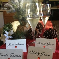 Large Tent Style Place Cards