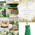 1483683140 thumb kale color wedding inspiration