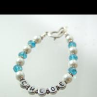 Name Pearl Bracelet