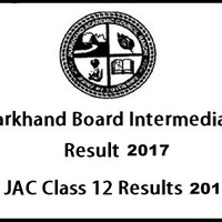 Jharkhand Inter Result 2017