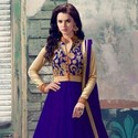 1489137124 thumb design no 1708 blue anarkali collection front 1