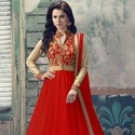 1489137125 thumb design no 1708 red anarkali collection front 1